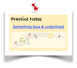 Practice Notes Note!
